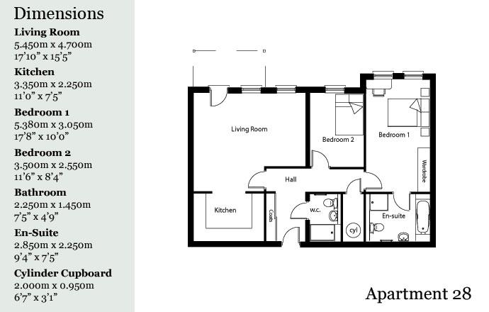 apartment plans middleton hall retirement village