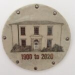 Ceramic plaque created to commemorate Middleton Hall's 120th anniversary