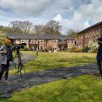 News reporter Helen Carnell interview Ben Henderson MHRV Estates Supervisor Ben Henderson